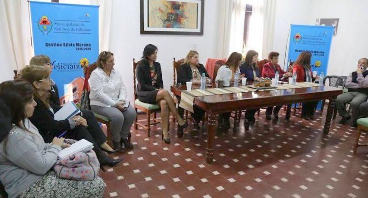 Mesa Socioeducativa en San José de Feliciano