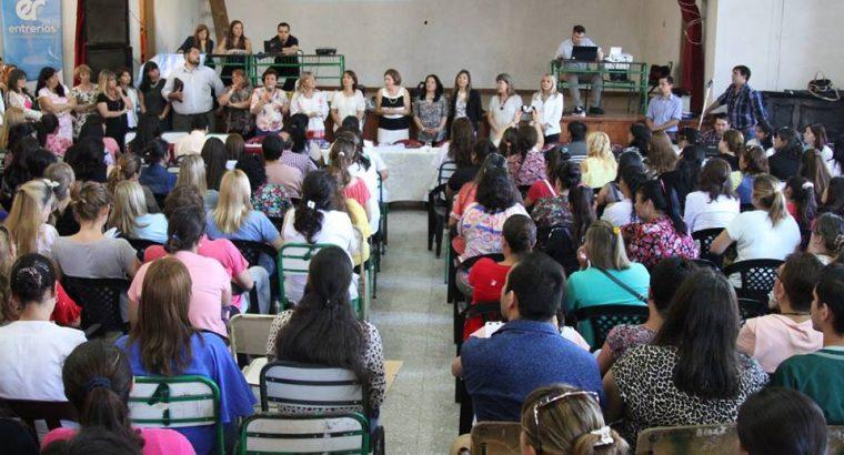 Comenzaron las jornadas de Concurso para docentes en Feliciano