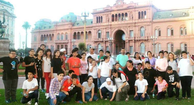 Escuelas integrales de la provincia viajaron a Buenos Aires