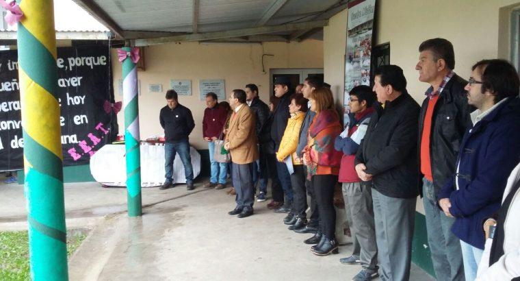 Panozzo participó de los festejos por el 30 aniversario de la Agrotécnica Nº 52 de Feliciano