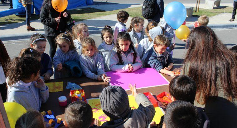 Niños y jóvenes participaron de una jornada por el Día Mundial de la Seguridad Vial
