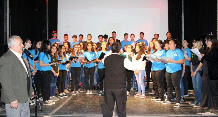 Encuentro de Coros de Jóvenes en la Semana de las Artes