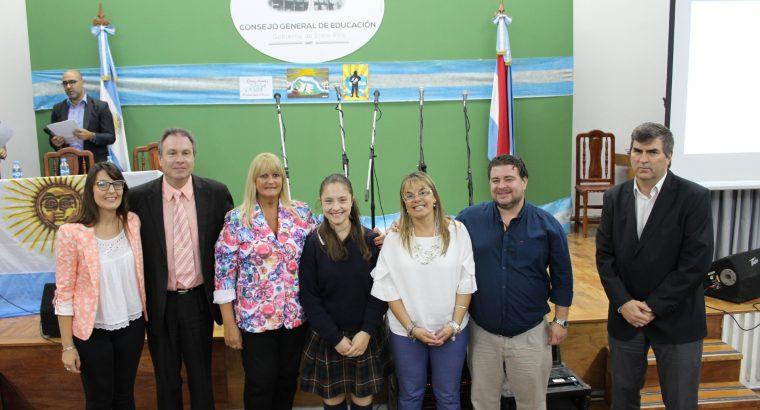 Premiaron a los estudiantes ganadores del certamen Malvinas: Nuestras Islas