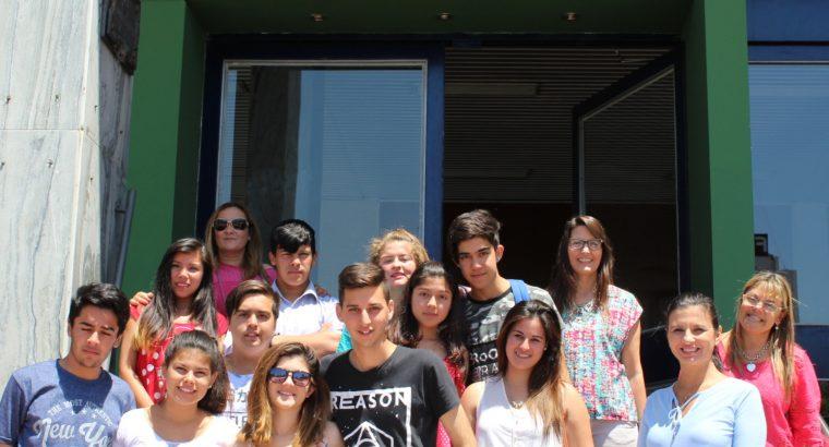 Estudiantes de Islas visitaron el CGE