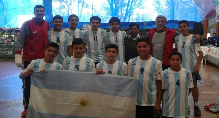 Entrerrianos en la semifinal del torneo Sudamericano en Bolivia
