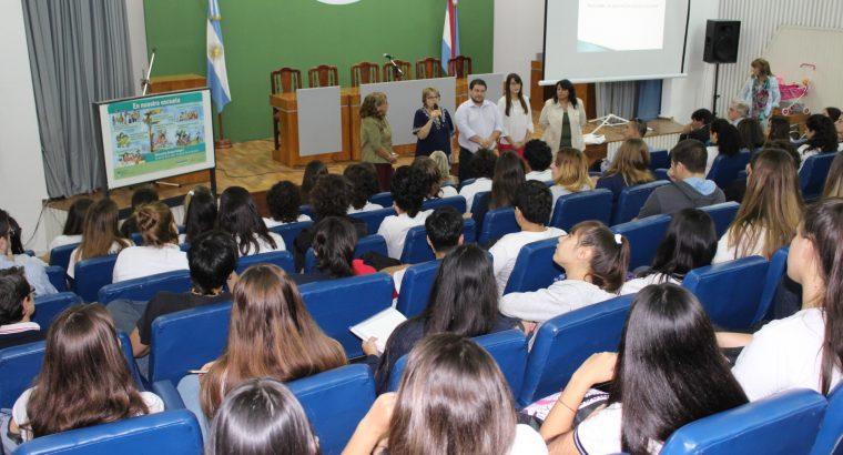 Estudiantes secundarios participaron en el CGE de una charla sobre educación sexual integral