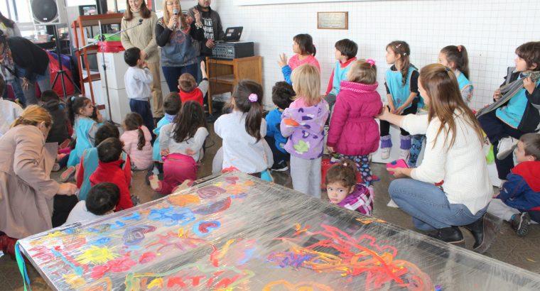 Niños del jardín Consejito disfrutaron de un taller de dibujo en el CGE