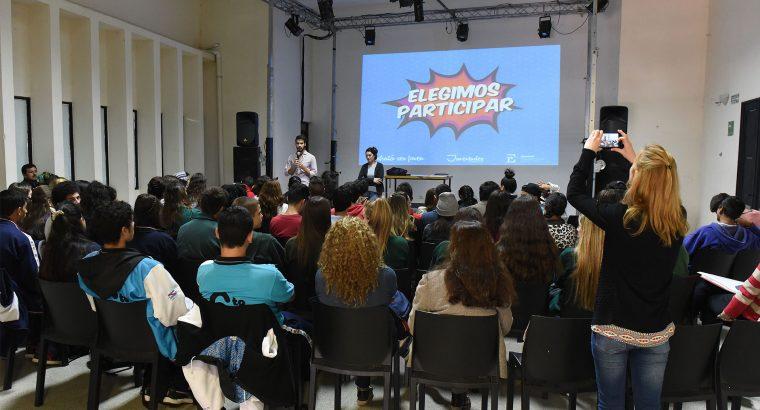 El gobierno provincial acompaña las iniciativas de centros de estudiantes