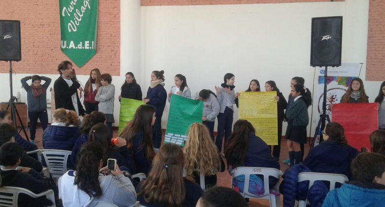 Estudiantes secundarios de Villaguay trabajan sobre la construcción de ciudadanía