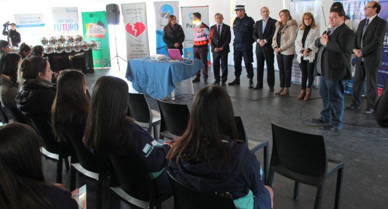 Se desarrolló una jornada integradora de Seguridad Vial para estudiantes en Paraná