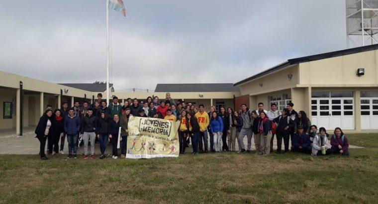 Estudiantes de San Salvador y Concordia se sumaron a Jóvenes por la Memoria