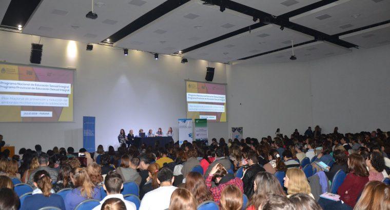 Más de 500 docentes participaron de una jornada sobre prevención del embarazo no intencional en la adolescencia