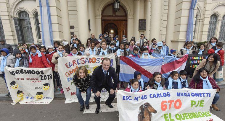 Bordet ratificó el compromiso de su gestión con las escuelas rurales