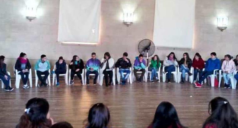 Se realizó un encuentro de centros de estudiantes en Victoria