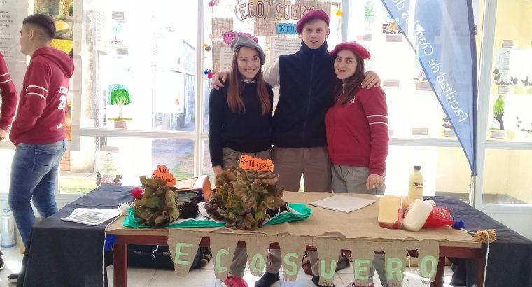 Estudiantes de la escuela agrotécnica Gobernador Maciá expusieron en Innovar Federal