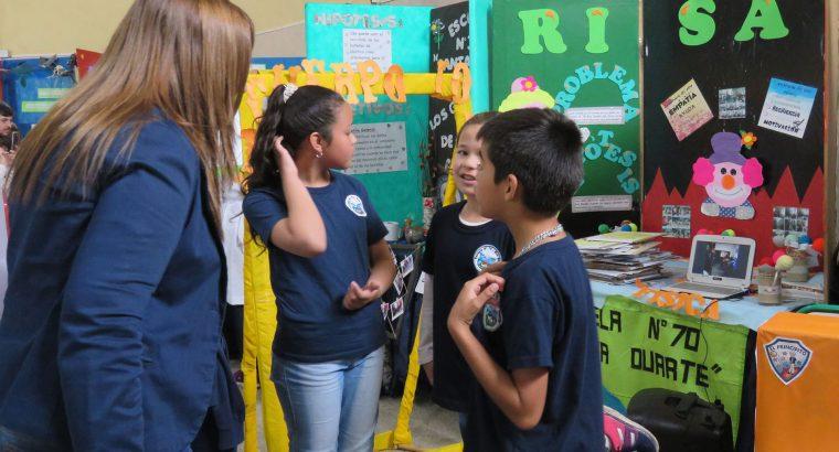 Más 100 trabajos se expusieron en la instancia departamental de la Feria de Educación en Concordia