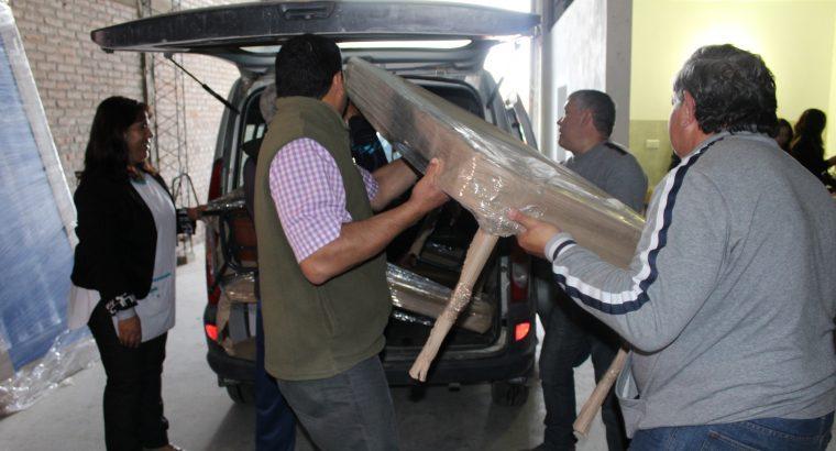 Escuelas del departamento Paraná recibieron mobiliario para nivel inicial