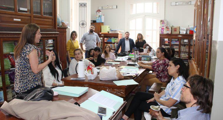 Encuentro de la red provincial de delegados de Educación y Memoria