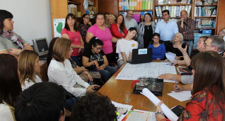 El CGE recibió a la comunidad educativa del Centro Educativo Terapéutico de Paraná