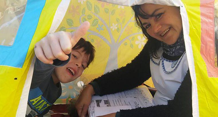 El gobierno garantiza la educación a alumnos que por enfermedad no pueden concurrir a la escuela