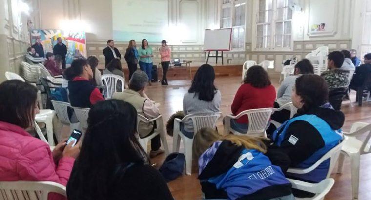 Estudiantes y docentes participaron de una jornada sobre consumos problemáticos