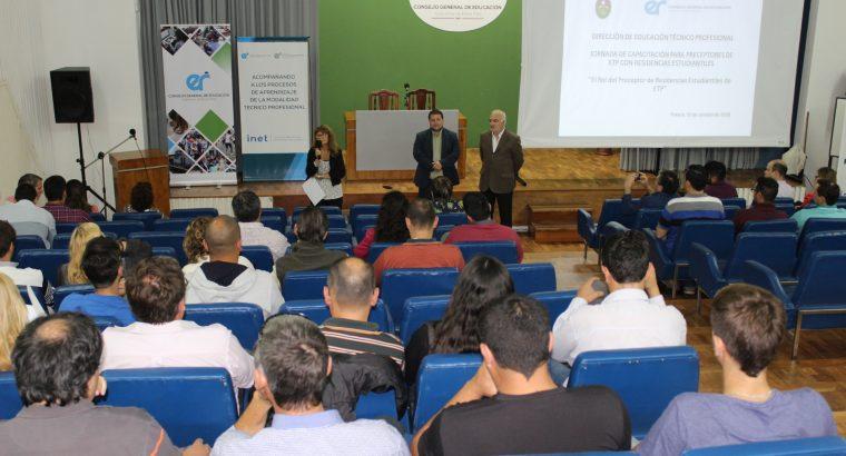Se realizó una capacitación para preceptores de residencias estudiantiles de escuelas técnicas y agrotécnicas