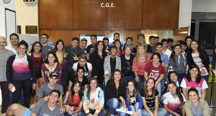 Estudiantes entrerrianos viajaron a Embalse Río Tercero