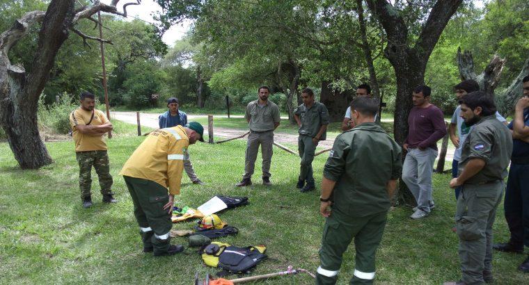 La provincia entregó en comodato al Parque San Martín una estación meteorológica