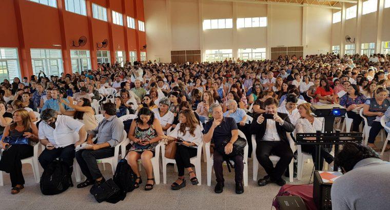 Este miércoles comienzan las Jornadas Regionales de Educación en Paraná