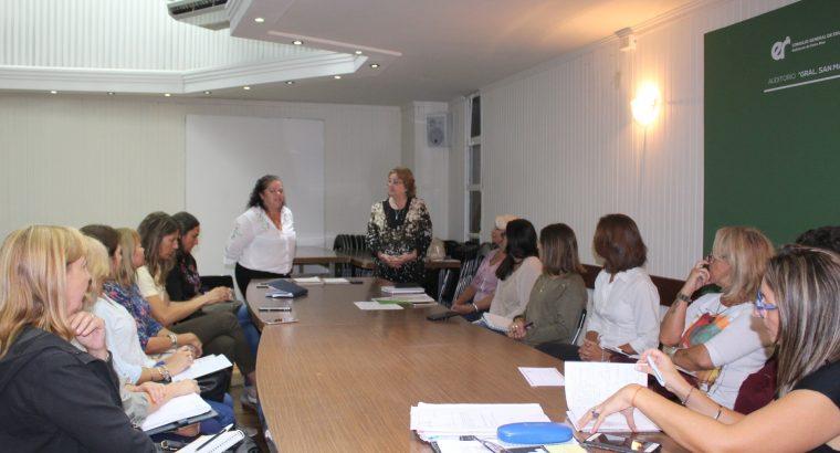 Representantes de Educación Especial y de Colegios de Profesionales de la provincia se reunieron en el CGE