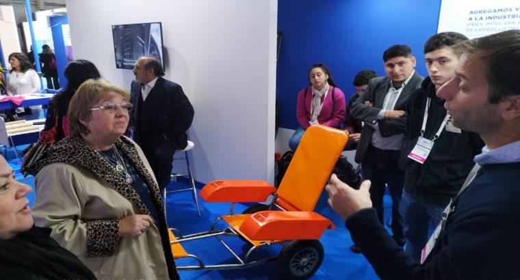 Estudiantes de escuelas técnicas construyeron una silla anfibia en Paraná
