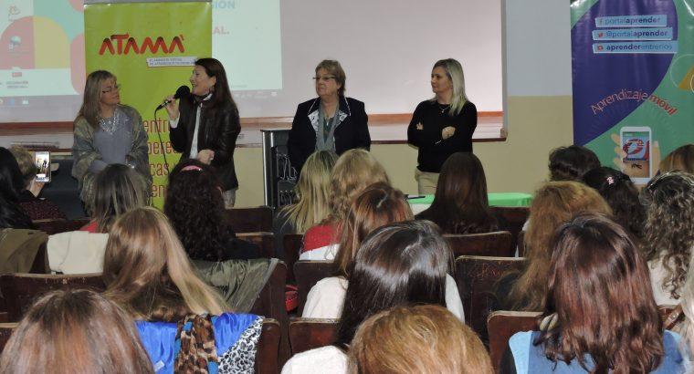Se presentó en Paraná el Programa Inicial Digital