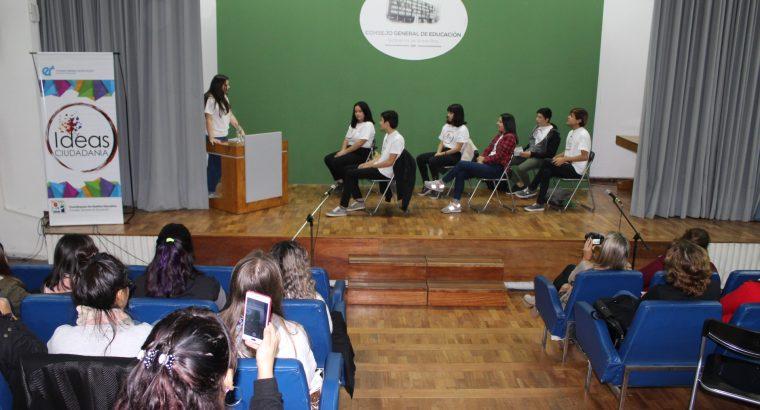 Estudiantes estrenaron la obra de teatro comedia y tragedia en el CGE