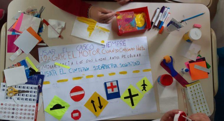 Taller de Educación y Seguridad Vial en la Escuela El Ramblón