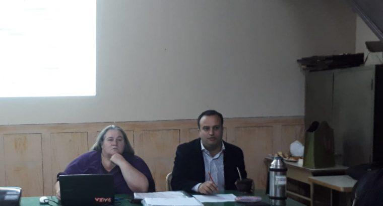 """Se realizan las últimas """"Jornadas de trabajo y actualización con docentes evaluadores"""" en territorio"""