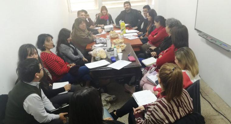Supervisores de la modalidad de jóvenes y adultos participaron de una jornada de trabajo en el CGE