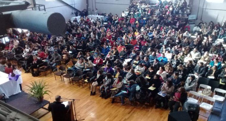 Más de 500 docentes de nivel secundario se capacitaron en una jornada de educación inclusiva