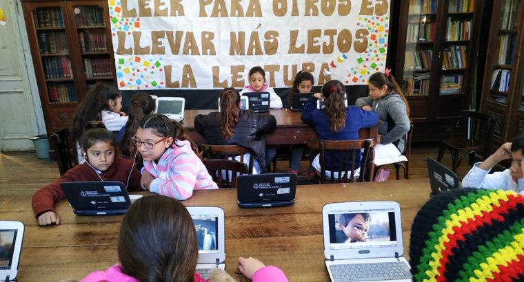 Alumnos de las escuelas de la provincia participaron de la semana de la lectura