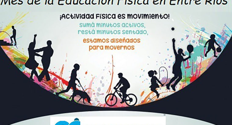 Se conmemora el Mes de la Educación Física y Día Mundial de la Alimentación en la provincia