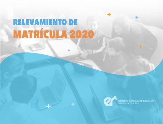 Relevamiento de Matrícula 2020