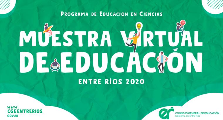 Muestra Virtual de Educación Entre Ríos 2020