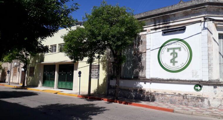 Se licitará el nuevo edificio de la EET Nº 2 de Gualeguaychú