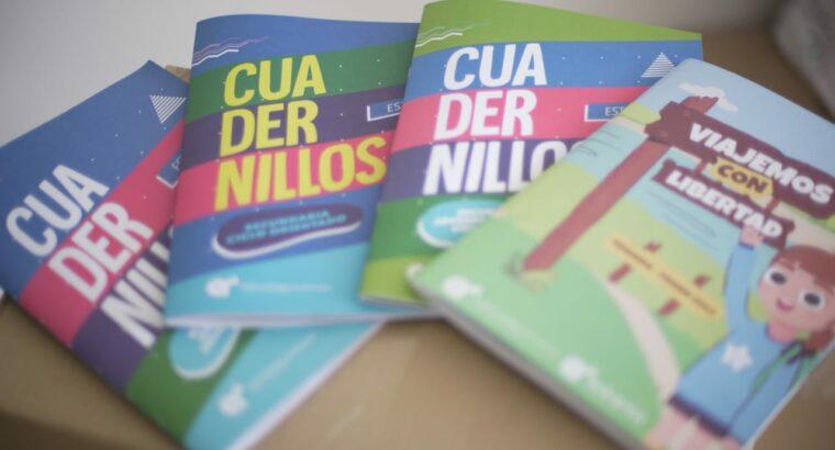 Lanzamiento y distribución de los cuadernillos del CGE