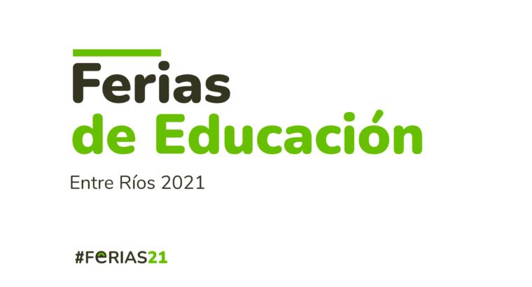 Inscripción a la instancia escolar de las Ferias de Educación 2021