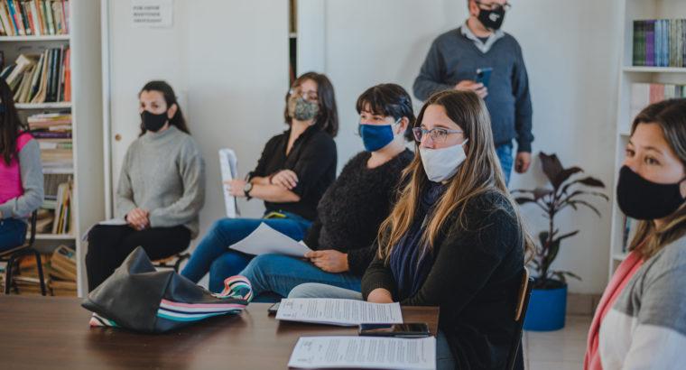 Encuentros territoriales de Formación Continua en Colón y Uruguay
