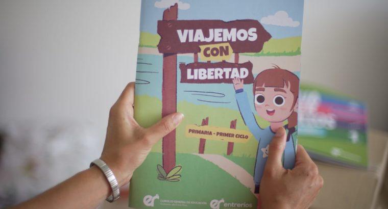 Viajemos con Libertad: asistencias técnicas a 600 docentes de Primaria